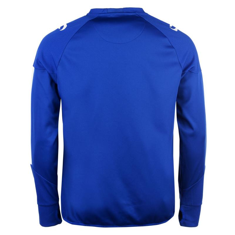 Mikina Sondico Evo Crew Neck Sweatshirt Mens Royal
