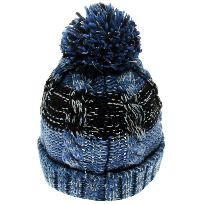 Gelert Turn Up Beanie Hat Junior Blue