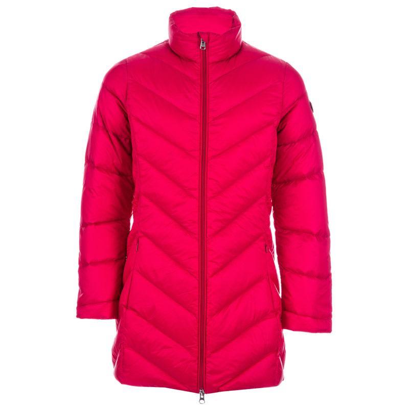Emporio Armani EA7 Junior Girls Mountain Core Long Down Jacket Pink