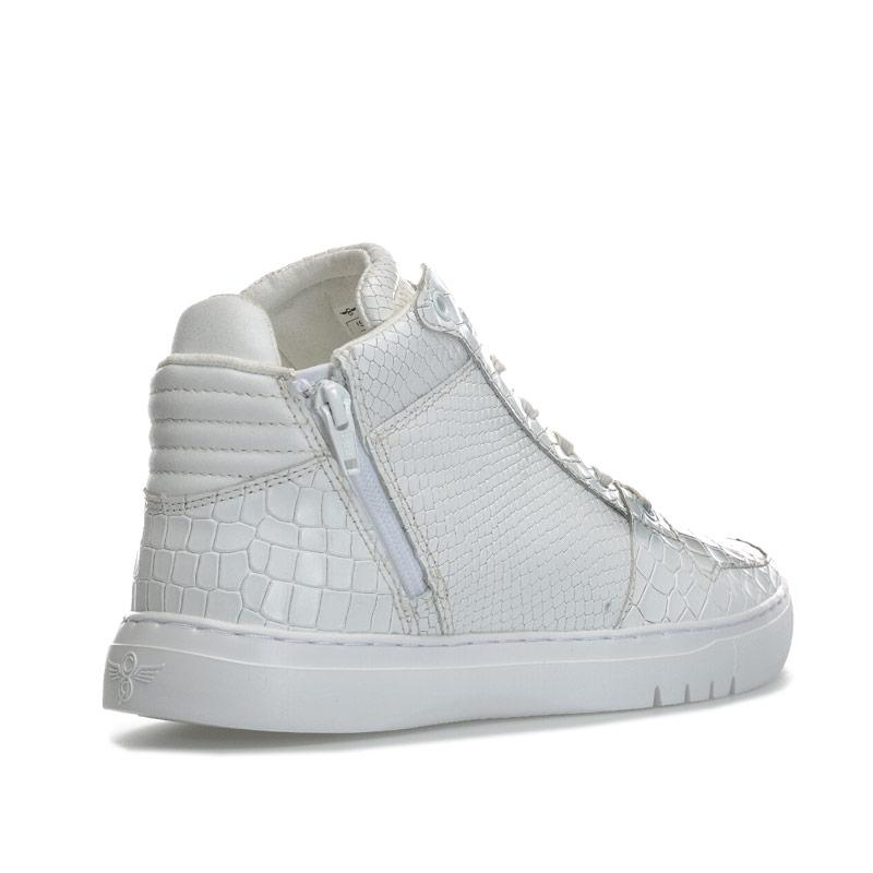 Creative Recreation Mens Adonis Mid Trainers White
