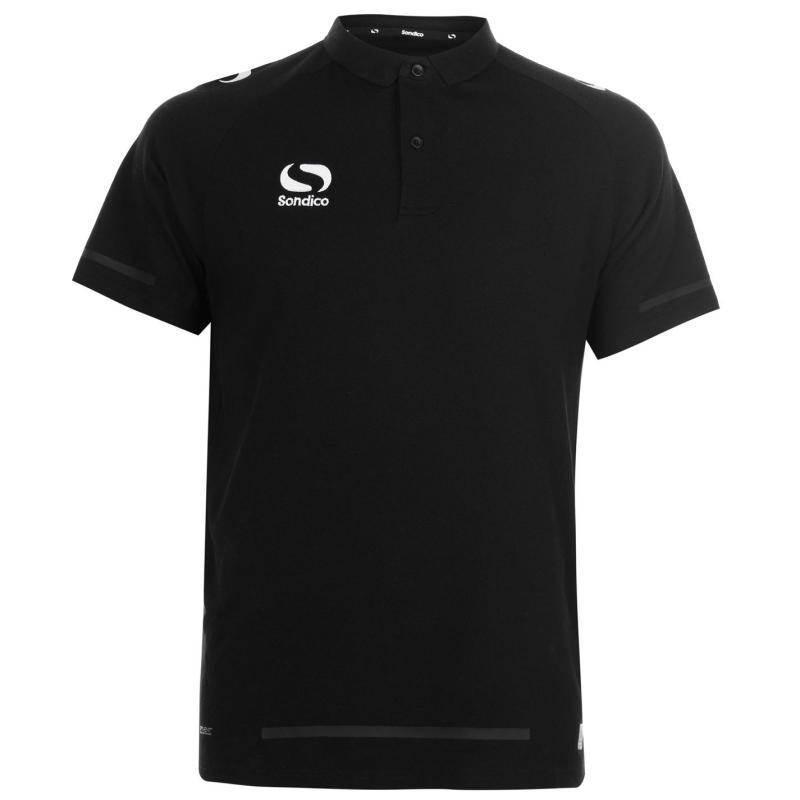 Sondico Evo Polo Shirt Mens Black