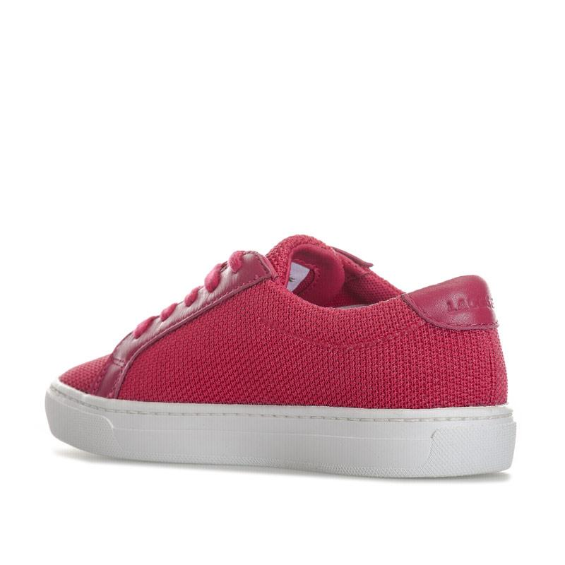Lacoste Junior Girls L.12.12 Trainers Pink