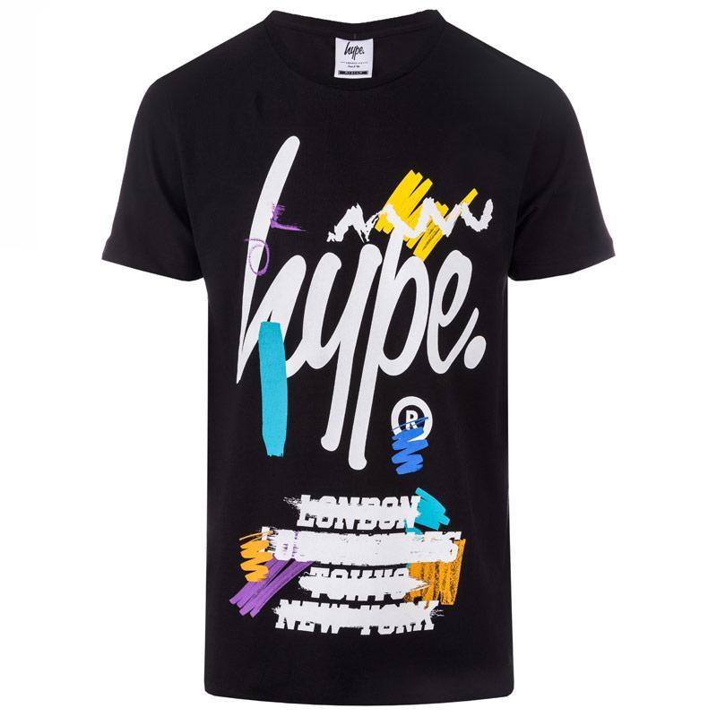 Tričko Hype Mens Capital Artist T-Shirt White