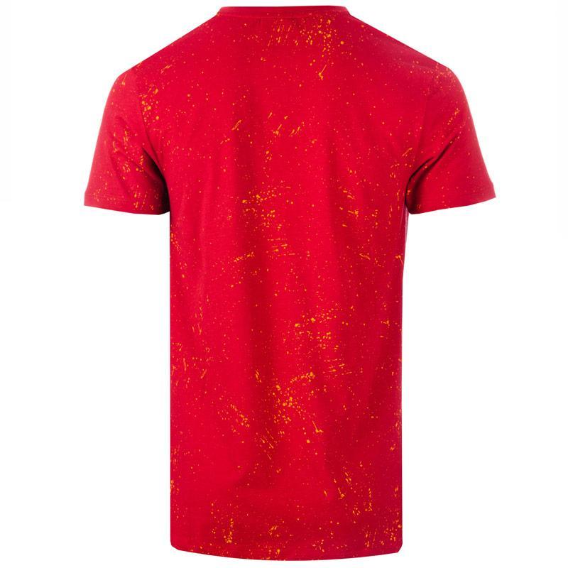 Tričko Hype Mens Splat T-Shirt Red