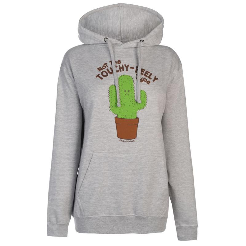 Mikina David And Goliath Goliath Hoodie Ladies Touchy Feely