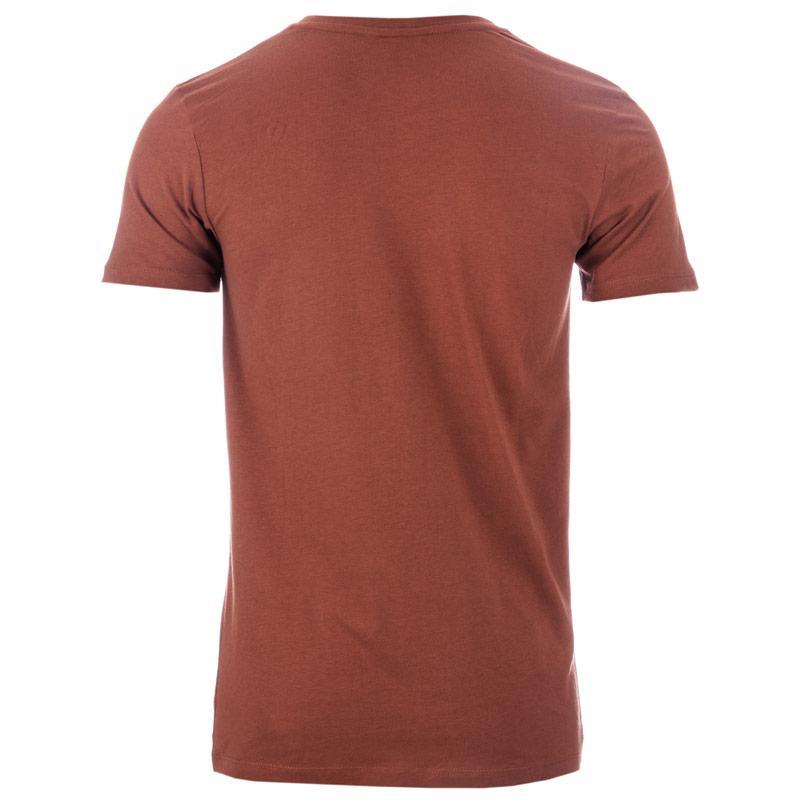 Tričko Hype Mens Script T-Shirt Chestnut