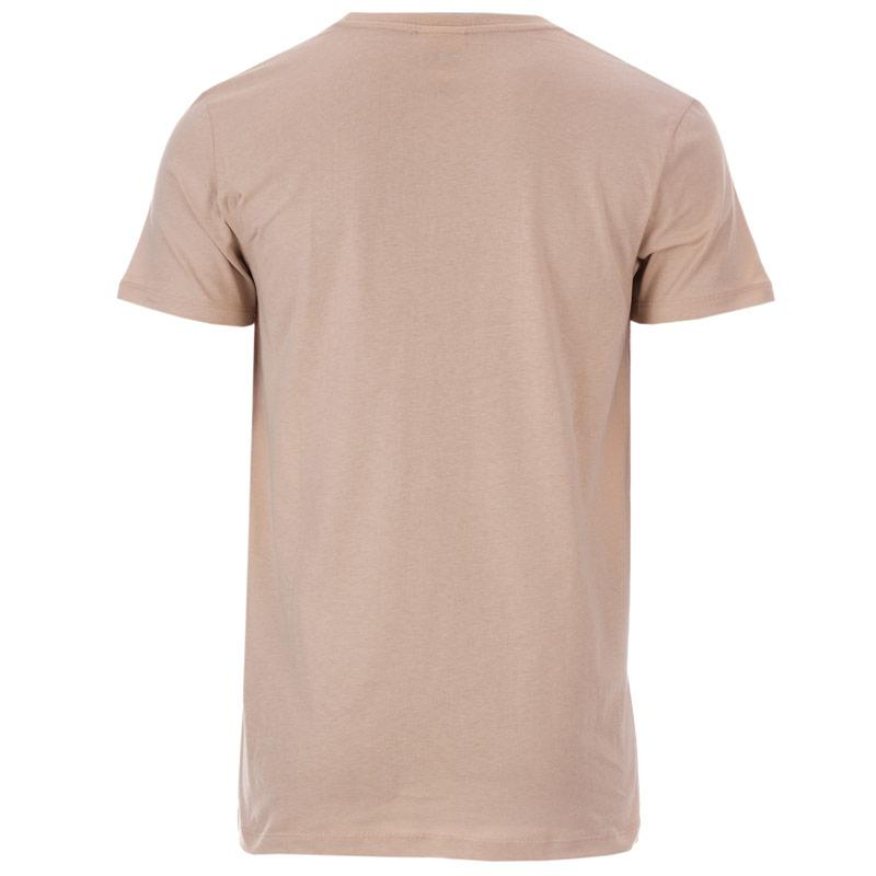 Tričko Hype Mens Script T-Shirt Sand