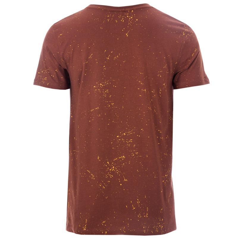 Tričko Hype Mens Splat T-Shirt Chestnut