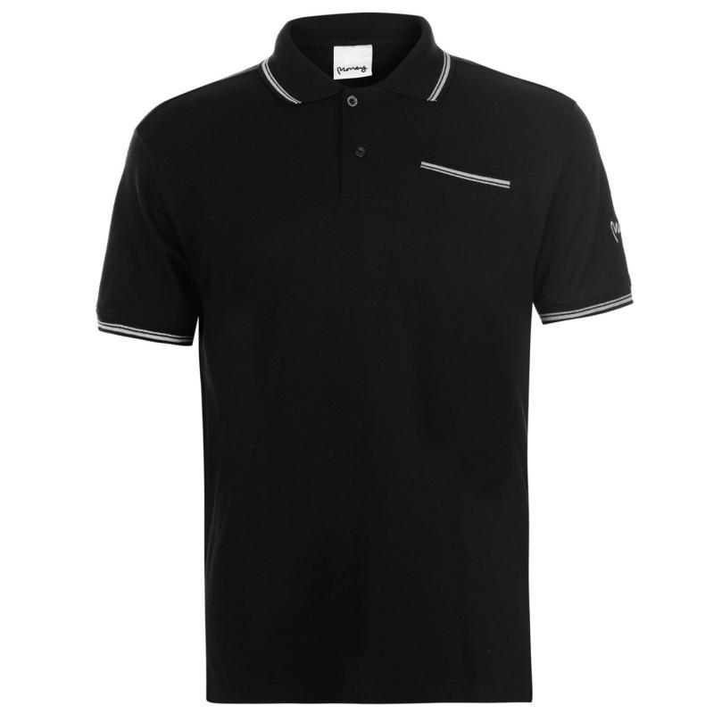 Money Comp Polo Shirt Mens Jet Black