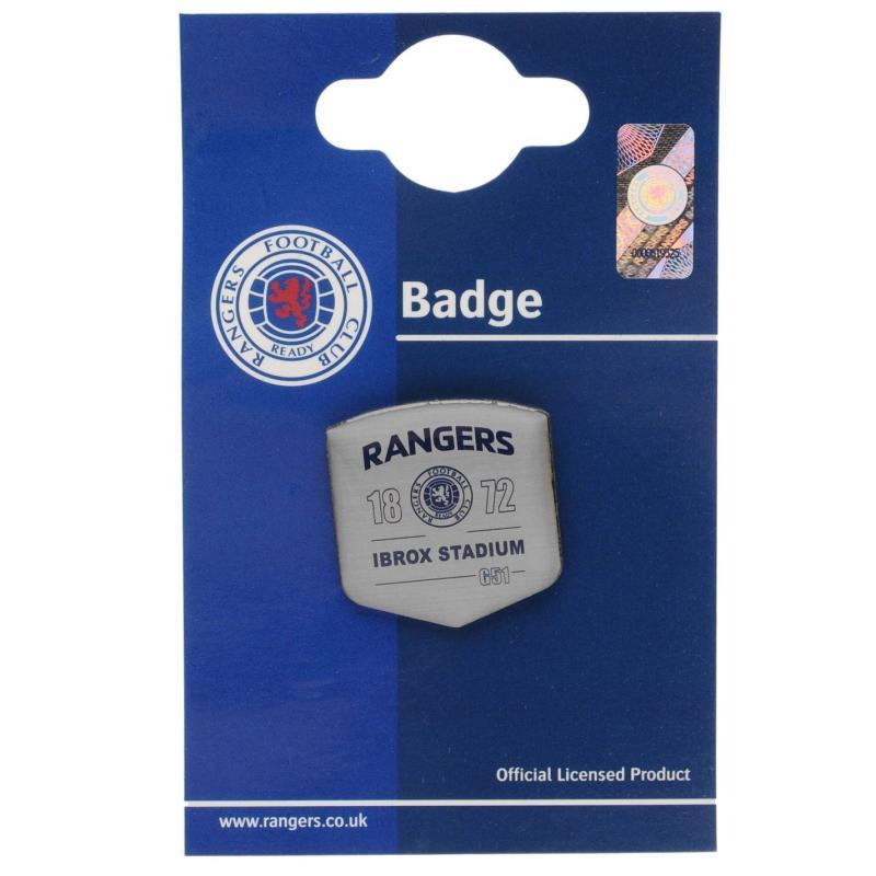 Team Football Crest Pin Badge Oldham