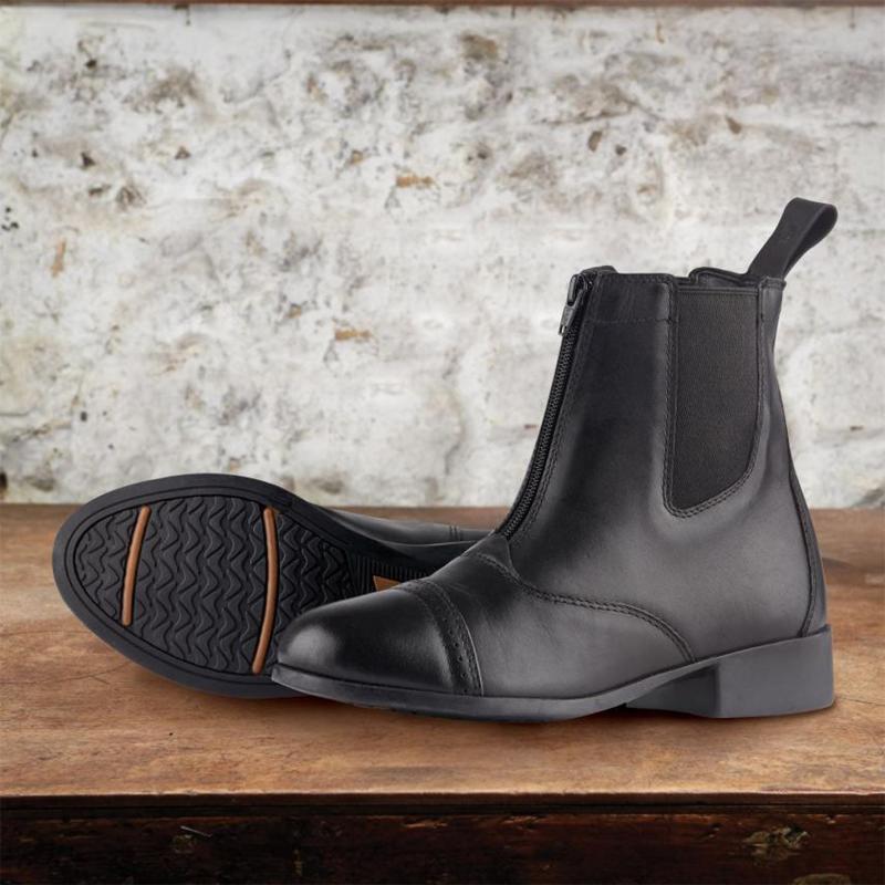 Dublin Elevation II Zip Paddock Boots Ladies Black