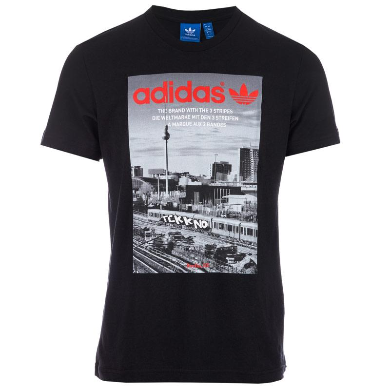 Tričko Adidas Originals Mens Photo Graphic T-Shirt Black
