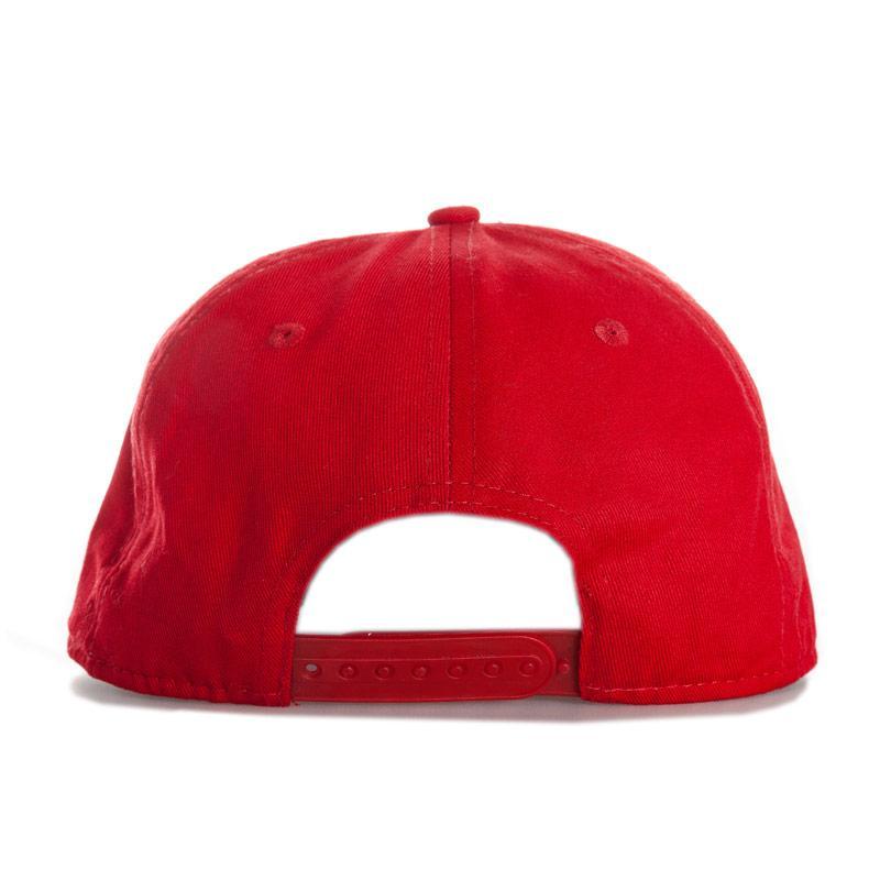Hype Mens Script Snapback Cap Red yellow