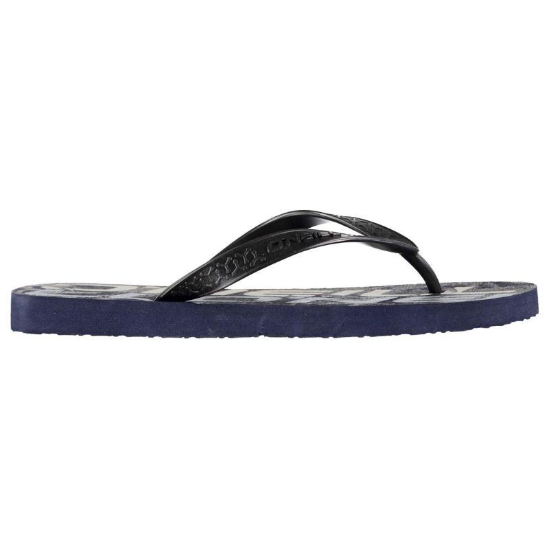 ONeill PR Flip Flops Mens Blue