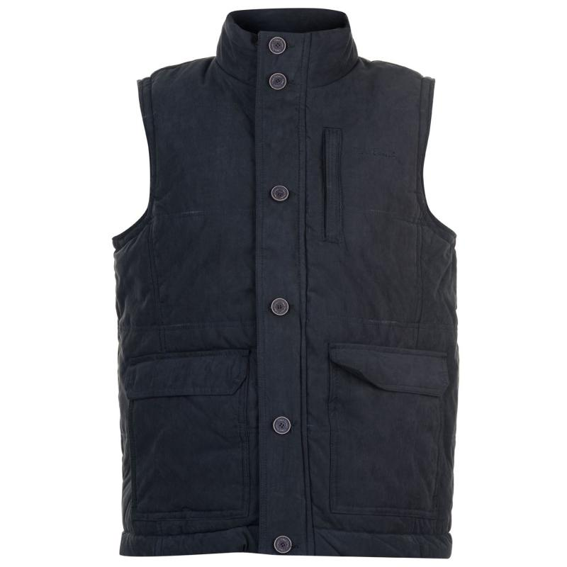 Pierre Cardin Padded Gilet Mens Navy
