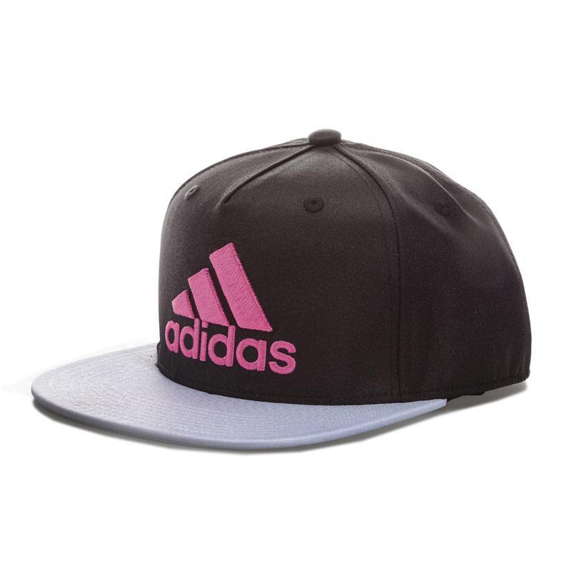 Adidas Performance Flat Peaked Cap Black