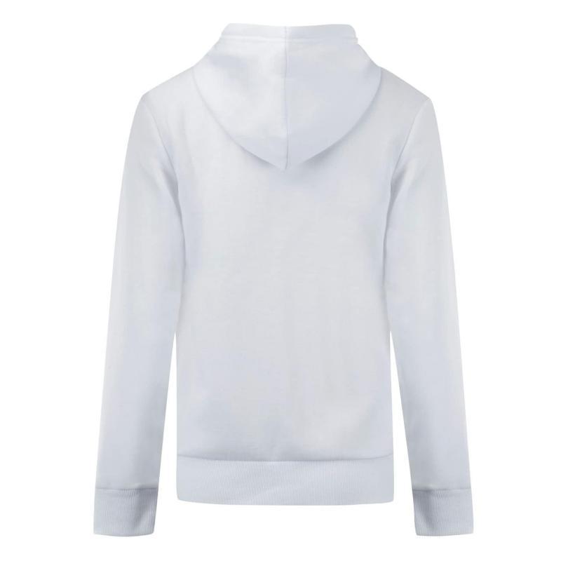 Mikina Lee Cooper Zip Thru Hoody Ladies White