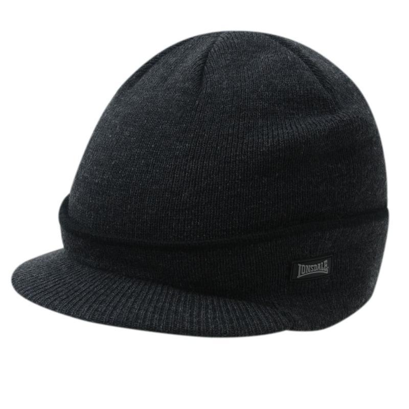 Lonsdale Peak Hat Mens Grey