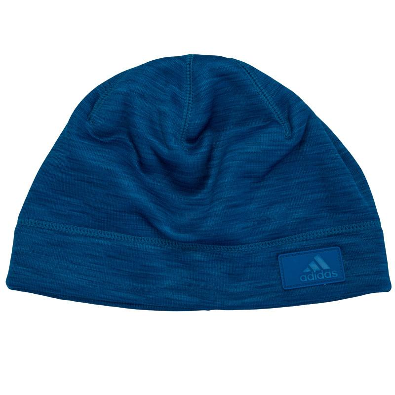 Adidas Performance Mens Climaheat Beanie Blue