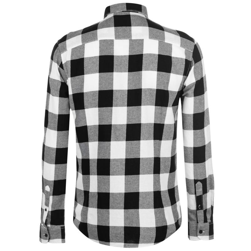 Only and Sons Gudmund LS Checked Shirt Cloud Dancer