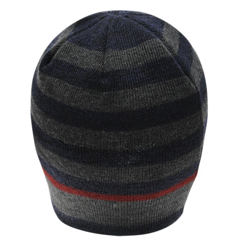 Firetrap Pull On Hat Mens Blue/Grey