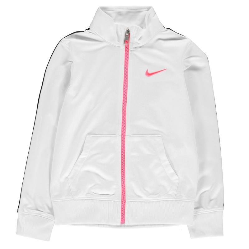 Nike Full Zip Track Jacket Infant Girls White