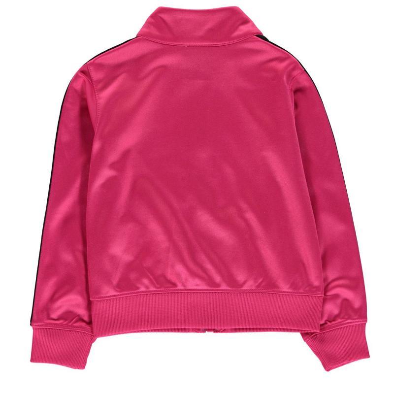 Nike Full Zip Track Jacket Infant Girls Pink