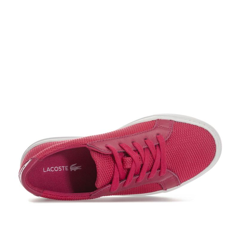 Lacoste Children Girls L.12.12 Trainers Pink