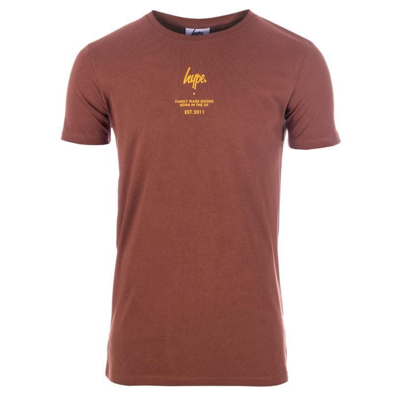 Tričko Hype Mens FMG Logo T-Shirt Green