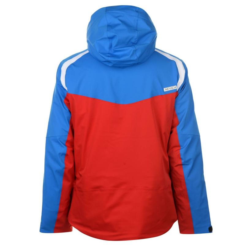 Nevica Aspen Ski Jacket Mens Blue/Red