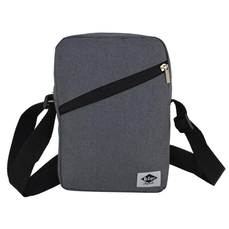 Lee Cooper Marl Gadget Bag Grey