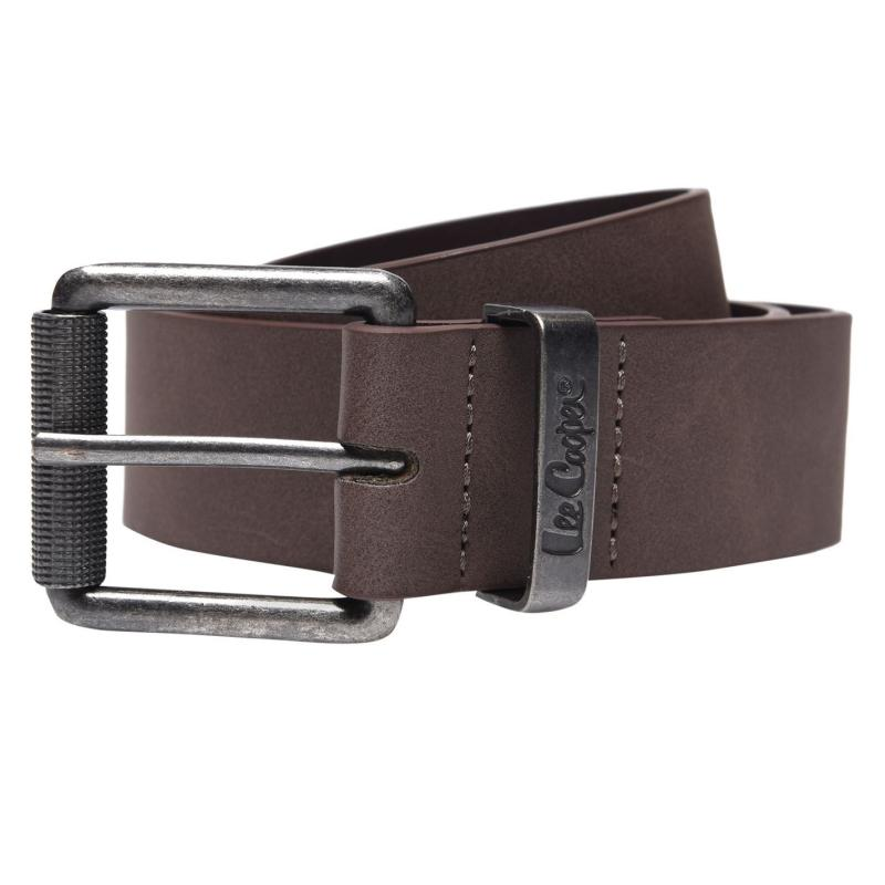 Lee Cooper Plain Belt Mens Brown