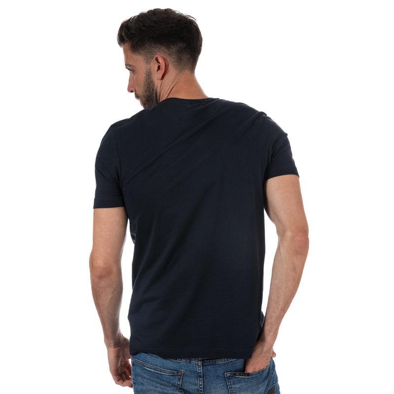 Tričko Henri Lloyd Mens Ragian Regular T-Shirt Navy
