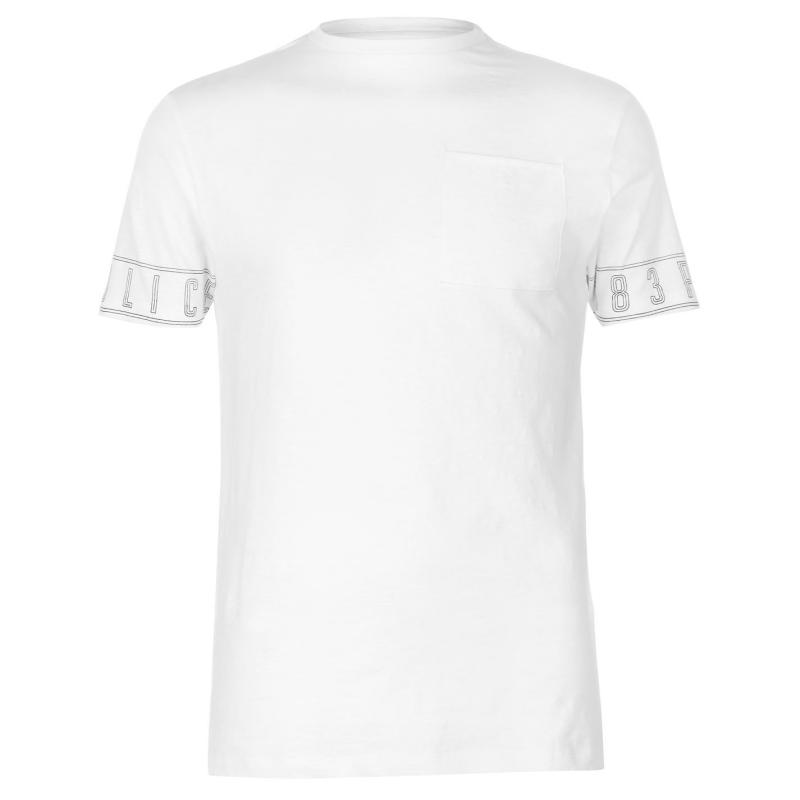 Tričko 883 Police Avalon T Shirt White