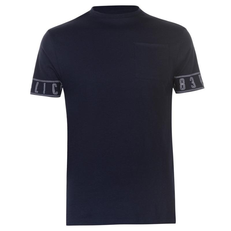 Tričko 883 Police Avalon T Shirt Quartz Pink