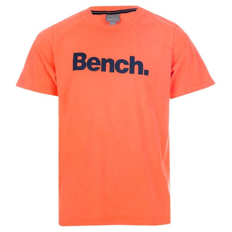Tričko Bench Infant Boys Logo T-Shirt Coral