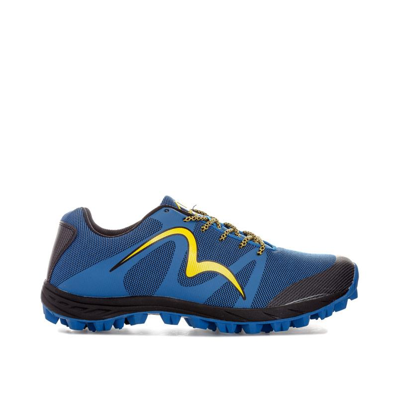 More Mile Mens Cheviot 4 Trail Running Trainers Blue