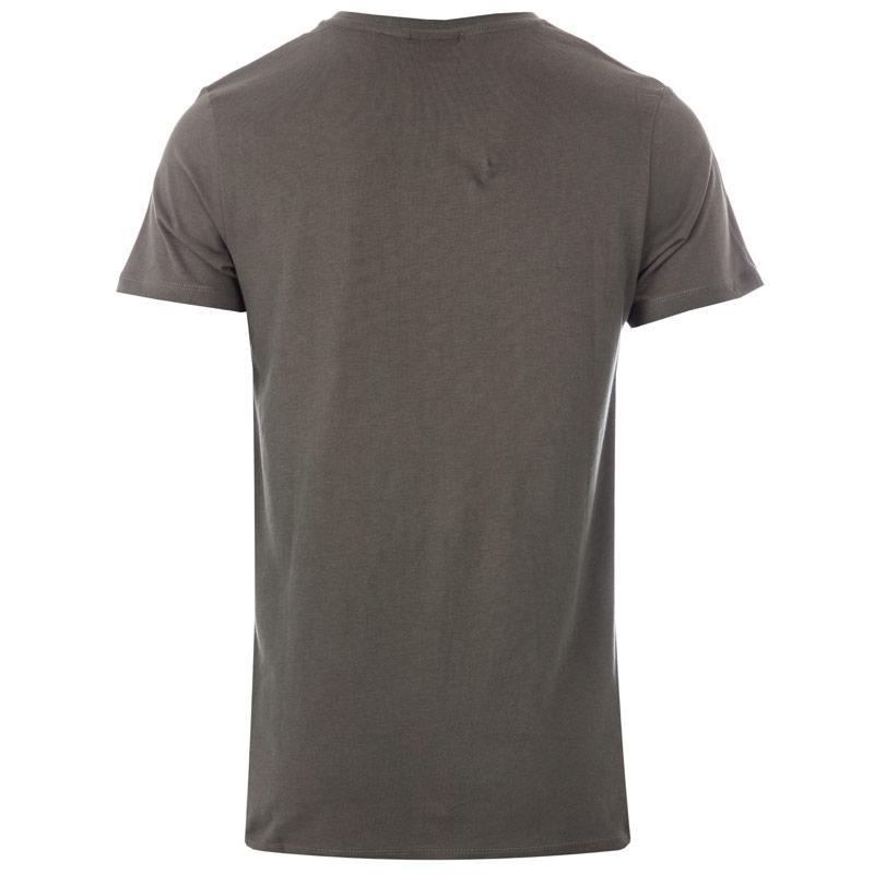 Tričko Hype Mens Floral Bird T-Shirt Green