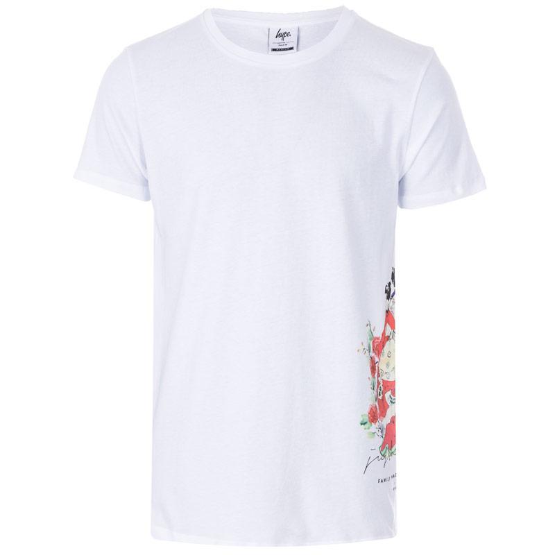 Tričko Hype Mens Japanese Floral T-Shirt White