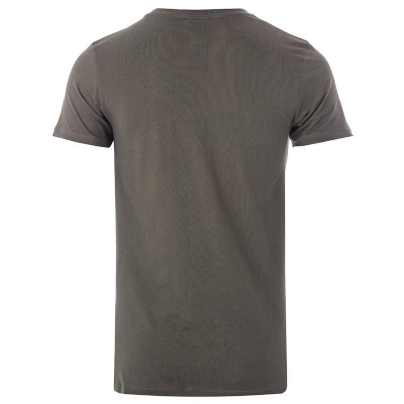 Tričko Hype Mens Script T-Shirt Green