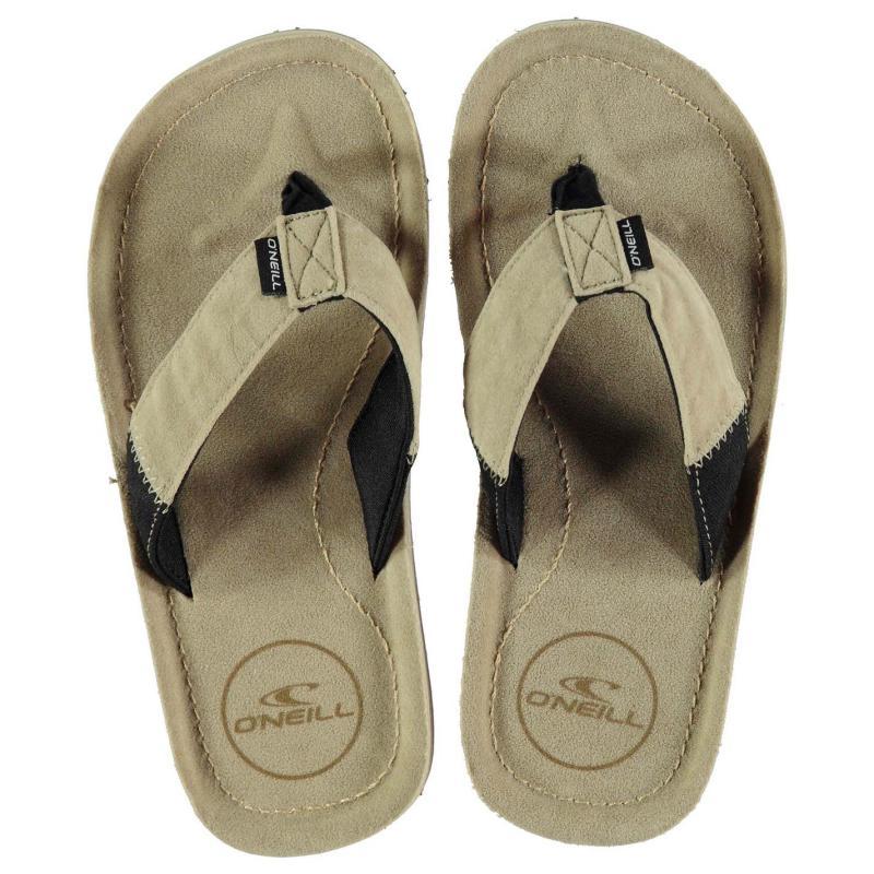 ONeill Chad Child Girls Flip Flops Metalic Grey