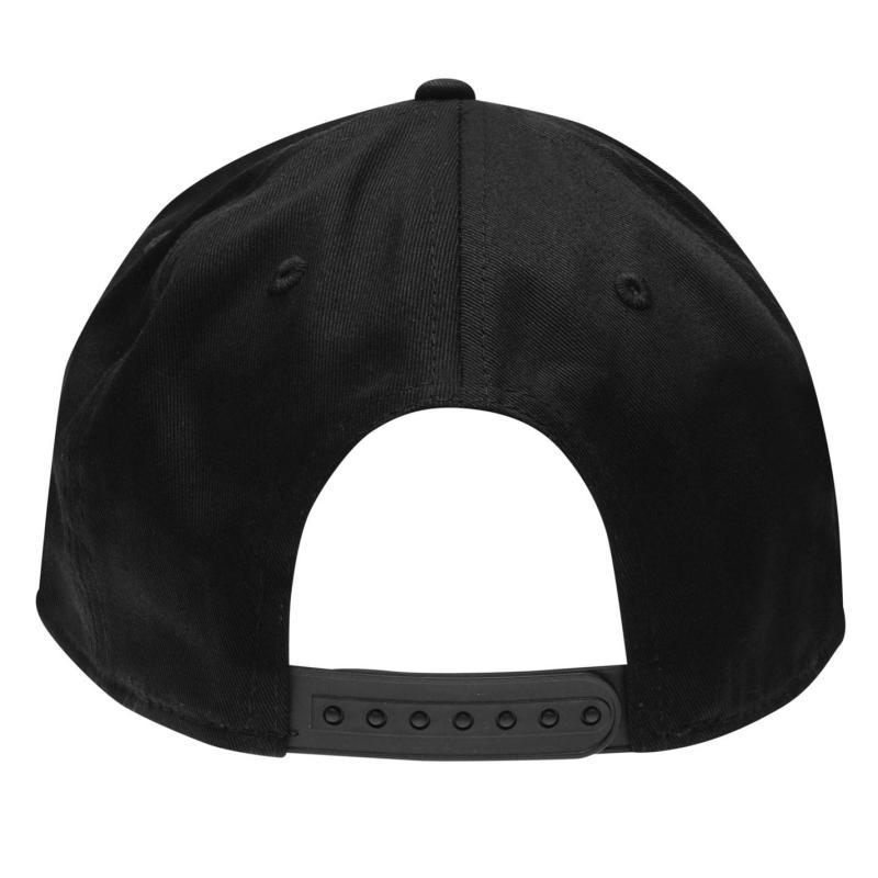Five Snap Back Cap Black/Grey