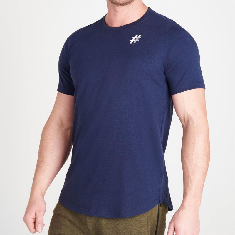 Tričko Five Street Small Logo T Shirt Mens Navy