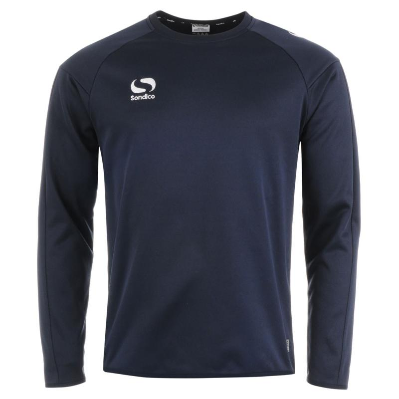 Mikina Sondico Strike Crew Sweater Mens Navy/White