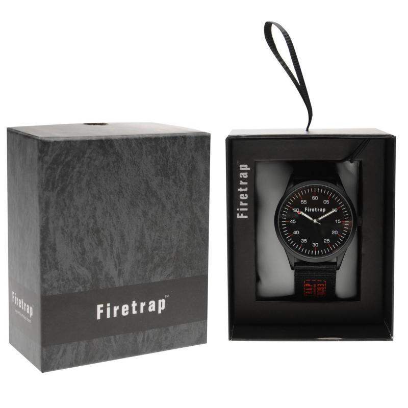 Firetrap Military Watch Black