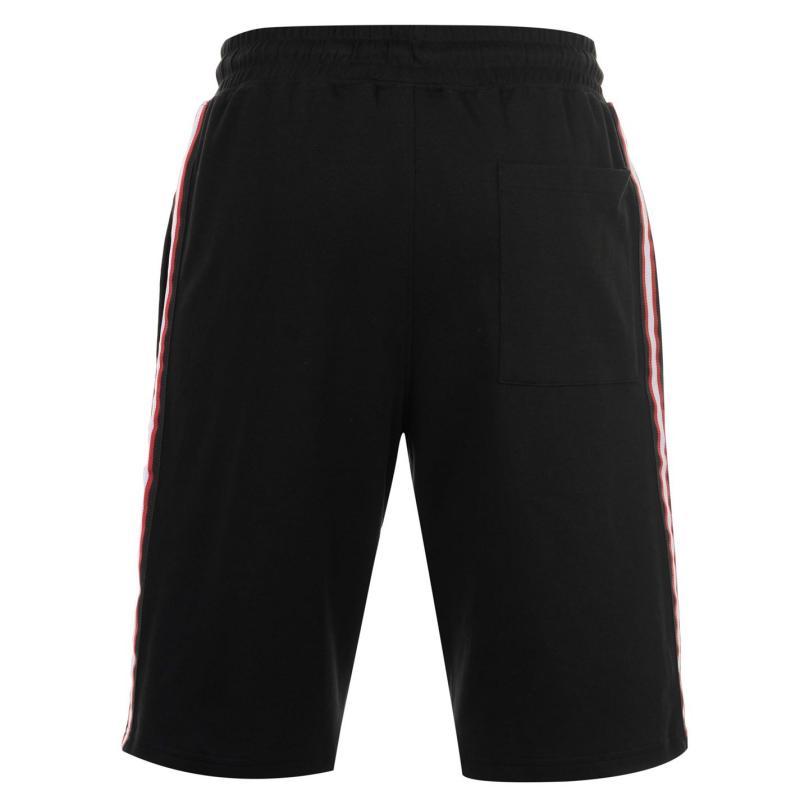 Pierre Cardin Retro Sport Shorts Mens Black