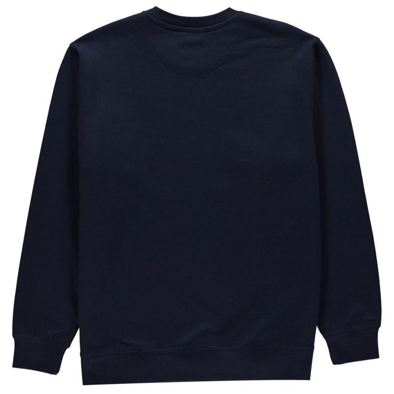 Mikina Pierre Cardin XL Crew Sweatshirt Mens Black