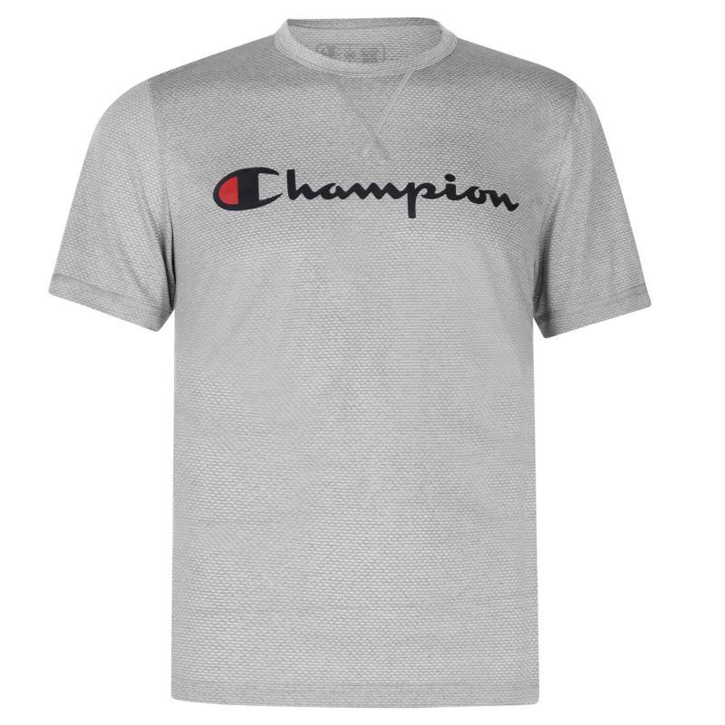Tričko Champion Crew T Shirt Grey Marl