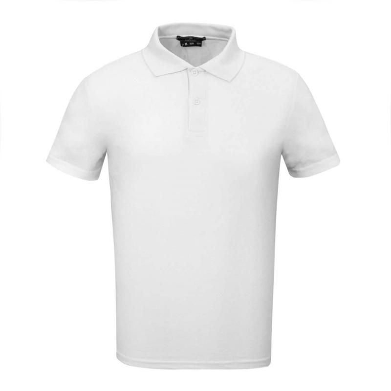Donnay Cotton Polo Mens White