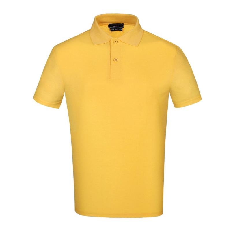 Donnay Cotton Polo Mens Yellow